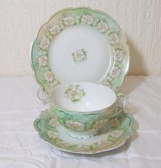 Beautiful Art Deco 1884/1909 Fine bone china by TheMewsCottage