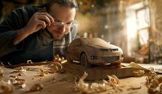 Mazda — Woodworker by Dmitriy Glazyrin, via Behance
