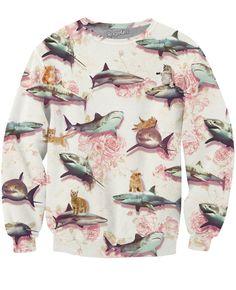 Sharks and Kittens Sweatshirt