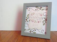Custom Wedding Invitation Keepsake