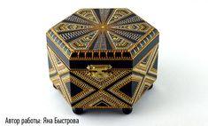 PUNTILLISMO Altered Boxes, Master Class, Decorative Boxes, Dots, Handmade Boxes, Art Ideas, Home Decor, Pointillism, Crates