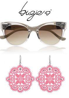 Occhiali da sole e Gaia <3 #bugieitalia #macrame #sunglasses #Gaia #occhiali