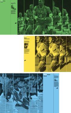 Bibliothèque / Nike / Nike Heritage / Static Animation / Graphics / 2010