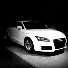 Even when trying to be spooky, it just screams out beauty. Audi TT
