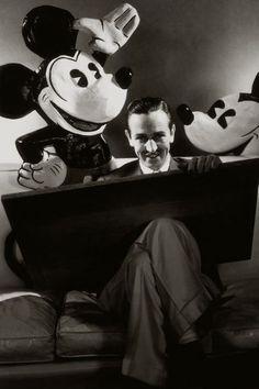 Walt Disney and friends - c. 1930s