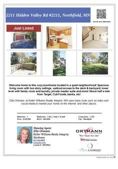 2211 Hidden Valley Road #2211 Northfield MN 55057 Just Listed!