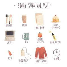 Study Hacks - illustration by Nicole Clowes