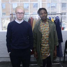 Sam Cotton & Agi Mdumulla (Agi & Sam) at LONDON show ROOMS NY