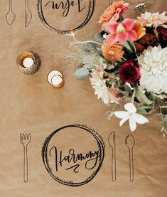 Wedding Table Settings, Our Wedding, Table Decorations, Home Decor, Decoration Home, Room Decor, Home Interior Design, Dinner Table Decorations, Home Decoration
