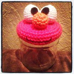 FREE monster lid crochet pattern Annies DIY: Freebie: Glasmonster-Anleitung für Euch