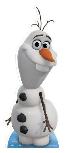 Starstills.com - Olaf from Frozen Disney Cardboard Cutout / Standee, £16.99 (http://www.starstills.com/olaf-from-frozen-disney-cardboard-cutout-standee/)