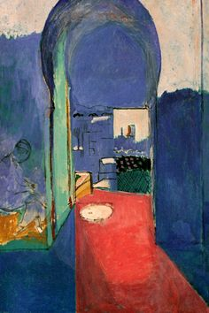 """""""Entrance to the Kasbeh (1912)"""" by Henri Matisse"""