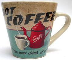 Cute vintage coffee cup
