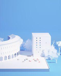 Supreme Court, Tirana 2015_Building Building, Elias Guenon Architecture & UHO