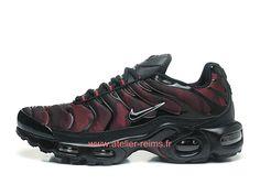 various colors 55873 f119a Nike Air Max Plus TN Ultra Officiel Chaussures Nike Baskets Pas Cher Pour  Homme Noir Rouge