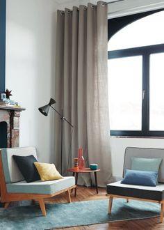 rideau les dernires nouveauts pour habiller ses fentres avec lgance marie claire maison - Maison Moderne Beton