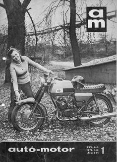 1973 Motorcycle Posters, Mopeds, Classic Bikes, Vintage Motorcycles, Vespa, Bikers, Motor Car, Hungary, Motorbikes