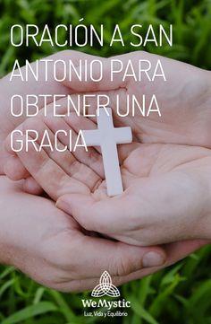 Oracion A San Antonio, Maria Garcia, Catholic Religion, One Wish, The Orator, Daily Prayer, Love And Light, Gods Love, Real Life