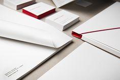 love the asymetric folder!    moodley brand identity -herbst kinsky