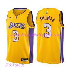 580d327f8 Los Angeles Lakers NBA Trikot Kinder 2018-19 Isaiah Thomas 3  Icon Edition Basketball  Trikots Swingman