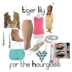 Tiger Lily for the Hourglass by custom-chaos on Polyvore featuring J.Crew, Doublju, Sole Society, Orciani, GUESS by Marciano, Mudd, Cara, Steve Madden, Christian Dior and women's clothing