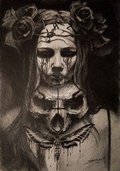 Fase finished, 2014 Andrey Skull www.andreyskull.deviantart.com for #composition #form #motion
