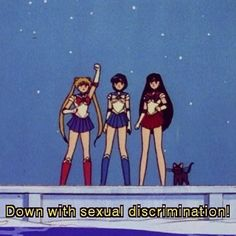 sailor moon, you always know what to say
