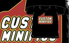 Custom Minifigs T-shirt by Bubble-Tees.com by Bubble-Tees