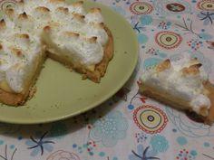 Tarta de merengue y lima