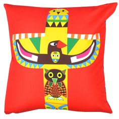 Designer decorative Folk pillow № gd382