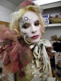TDC Promo stills - the-devils-carnival Photo - Emily Autumn as the Painted Doll