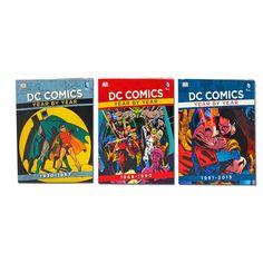 DK The Ultimate DC Comics Super Hero 3 Books Set Collection