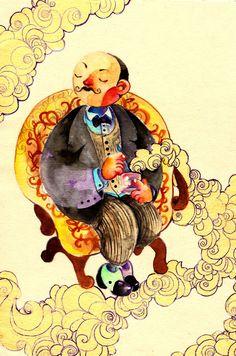 mr Poirot by *faQy on deviantART
