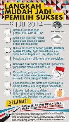 Pemilu Presiden 9 Juli 2014 - Sesejuk Pagi