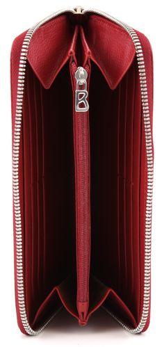 Bogner inteligentes Maxi Dinero carpeta de las señoras de cuero de color rojo 20 cm - 1018002-007-0   Marcas de diseño :: wardow.com