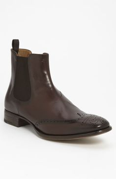 Prada Wingtip Chelsea Boot available at Nordstrom