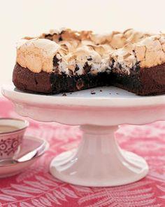 Chocolate Meringue Cake Recipe