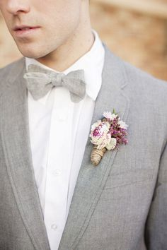 "Not sure I like the ""jersey"" (and not NJ) appearance of the fabric, but he color is nice - Sophisticated Groom Style."