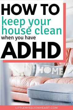 How to Conquer the Clutter When You Have ADHD Most people with ADHD struggle with clutter. These tips on ADHD home organization are like none other and they ACTUALLY WORK! Adhd Help, Adhd Brain, Adhd Strategies, Adult Adhd, Adhd Kids, Organization Hacks, Organizing Tips, Organising, Decluttering Ideas