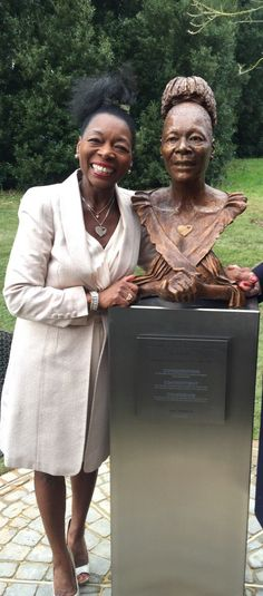 Bronze by Luke Shepherd. Commissioned by Exeter University to celebrate her successful tenure as Chancellor. Unveiled Feb Only the named public sculpture of a black woman in the UK. Billy Connolly, Feb 2017, Exeter, Bronze Sculpture, Master Class, Timeline, About Uk, Statues, Britain