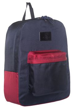 Junior Backpacks, School Backpacks, Tough As Nails, Pvc Coat, First Day Of School, School Bags, Zipper Pulls, Navy, Classic