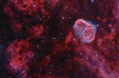 Cygnus: Bubble and Crescent