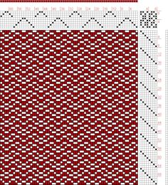 Hand Weaving Draft: Page 133, Figure 7, Donat, Franz Large Book of Textile Patterns, 8S, 8T - Handweaving.net Hand Weaving and Draft Archive...