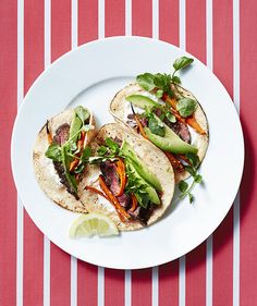 """Need a standout """"Taco Tuesday"""" recipe? With these cheesy, meat- and veggie-packed tacos on the menu, you'll want to have one (or three) every night."""
