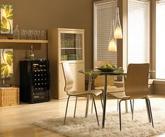 Danby Wine Coolers. Perfect for any home decor.