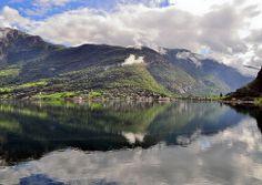 Aurland, Aurlandsfjord, Norway
