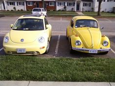 New VW Beetle...Old VW Beetle