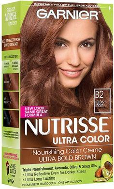 Garnier Nutrisse Ultra Color Permanent Haircolor B2 Reddish Brown Roasted Coffee This Is The One I Use It Gives Me Wonderful Highlites Ad
