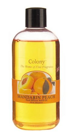 From 8.00 Colony Wax Lyrical Homescents Mandarin Peach Reed Diffuser Refill