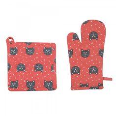 Gant & manique chat  http://www.homelisty.com/cadeaux-deco-amoureux-chats/